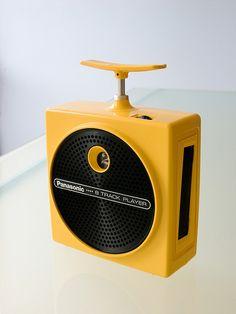 Panasonic Dynamite-8 8-track tape player