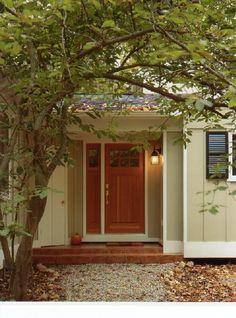 House On Pinterest Orange Door Modern Exterior And