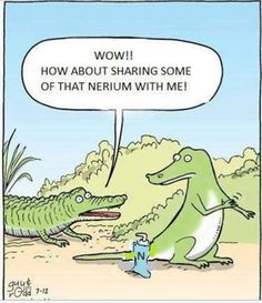 Ha! Got alligator skin? Nerium is the answer!  Visit www.wrinkleresults.nerium to order yours with a 30 day money back guarantee!