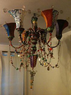 embellished chandelier - LOVE!