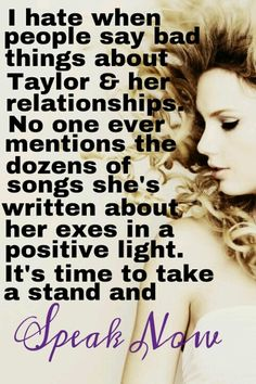 ATTENTION ALL SWIFTIES: If you feel the same, pin this, tweet this &/or post this on your Facebook! #StandUp4Taylor