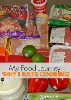 My Food Journey - Why I Hate Cooking   Organize 365
