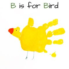 Mommy Minutes: ABC Handprint Art Part 1
