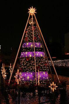 Christmas Tree in Tokyo, Japan
