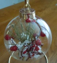 Christmas craft – snow berry ornament | best stuff