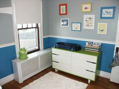Baby Boy's Bright and Serene Space