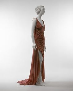Dress Gucci  (Italian, founded 1921) Designer: Tom Ford (American, born 1961) Date: spring/summer 2003 Culture: Italian Medium: silk Dimensions: L. at center back: 61 in. (154.9 cm). Credit Line: Gift of Gucci, 2003