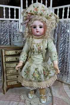gorgeous antique doll clothes | VICTORIAN RETREAT ANTIQUE DOLLS on Ruby Lane http://www.rubylane.com ...