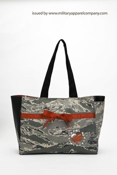Our biggest camo bag is perfect as a diaper bag or as a large purse. By www.militaryapparelcompany.com specializing in custom handbags, purses and accessories crafted from personal military uniforms. We also offer Military Blankets and awesome Military gifts for the entire family! www.facebook.com/militaryhandbag