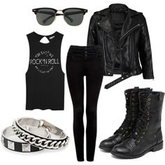 punk rock grunge, seal, polyvore outfits punk, punk rock outfits