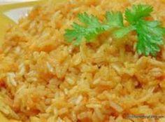 Mexican Sour Cream Rice...white rice with chicken broth, sour cream, green chiles, corn, monterey jack cheese, cilantro