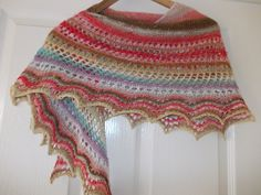 Ravelry: Simplicity lace shawl pattern by Megan Rees