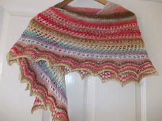 Ravelry: Simplicity lace shawl pattern by Megan Rees shawl pattern