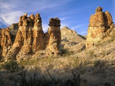 Pinnacles in Red Canyon, Big Bend National Park, Texas, USA Photographic Print