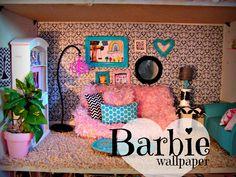 Barbie house made out of a shelf :: A girl and a glue gun: barbie rug and house decor