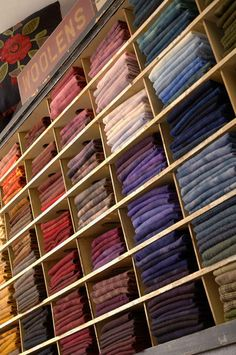 18 Fabric sorting ideas! Click the link http://www.allpeoplequilt.com/techniques/basics/storage-solutions_ss1.html#AddComment
