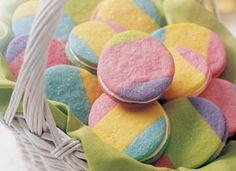"""Rainbow """"Easter"""" Cookies!"""