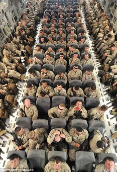 US troops on their way to Afghanistan, respect!