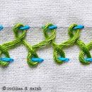 Tutorials for dozens of beautiful embroidery stitches.  I love these embellishments!