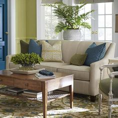 Corinna Sofa by Bassett Furniture