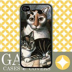 iPhone 4s Case iPhone 4 Case iPhone Case Cats by GABBYcases, $14.99