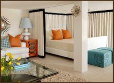 eclectic design, interior design, apartment decorations, studio apartments, balcony design, bed designs, small spaces, room dividers, bedroom designs
