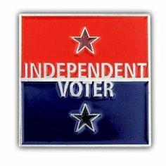 independent voter, voter pin, independ voter