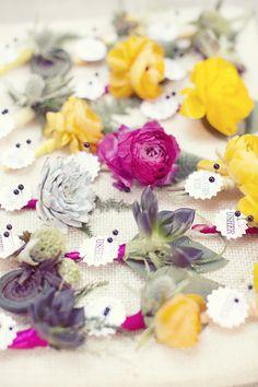 bright #boutonniere #groom #groomsmen #wedding #blooms #details