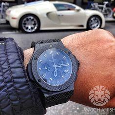 Hublot x BugattiLive Feed