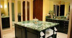 Green Marble Bathroom