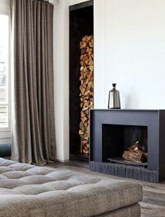 studio, modern fireplaces, interior, logs, fireplace surrounds