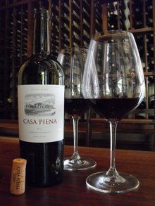 Cabernet Sauvignon reigns at Casa Piena! Napa Valley.  Need to try the Policy's wine!
