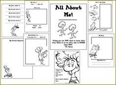 school, self portraits, teaching blogs, alphabet books, kindergarten blogs, dr suess, printabl, activity books, dr seuss