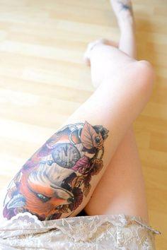 #fox #tattoo #ink