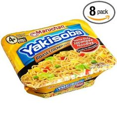 Maruchan Yakisoba Roast Chicken, 4.05-Ounce Packages (Pack of 8) $11.29