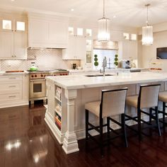 floor, contemporary kitchens, kitchen photos, stool, cabinet, light, kitchen islands, kitchen designs, white kitchens
