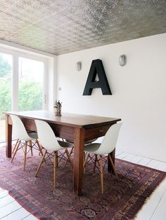 Eclectic Dining Room by Mad About Your House