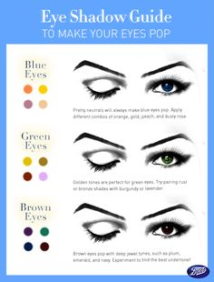 Make your eyes pop with the perfect color combination just for you