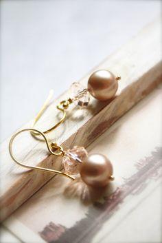 Di  Swarovski Pearls Jewelry  Romantic Bridal by sparklethots, $28.50