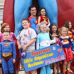 Superman Parade Metropolis, Illinois