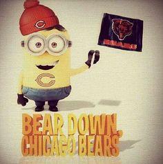 Minion bears fan!