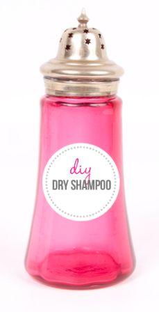 DIY Beauty   Organic Dry Shampoo for Light   Dark Hair