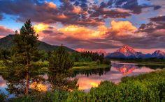 Grand Teton National Park, Mount Moran
