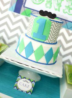 mustache party, little man mustache cake, birthday parti, man cake, cakes