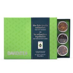 A collection of #FairTrade teas that give back.