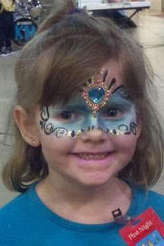 DIY Mask Face Paint #DIY #Masks #Halloween #HalloweenCostumes #Costumes #FacePainting #Birthdays #Birthday #Parties #Party