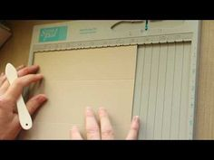 Gable Box - Excellent tutorial! Love scor'ing with Core'dinations!!!