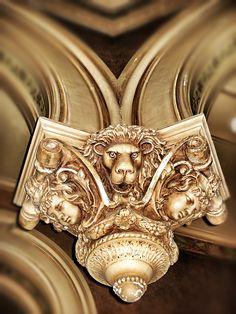 Bishop's Palace Architectural detail - Galveston, TX