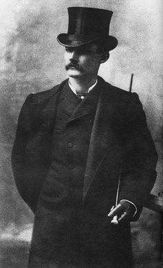Professional gambler and dandy Luke Short 1890s