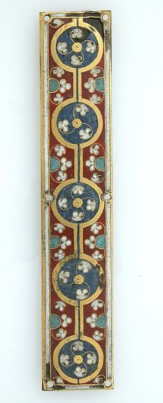 Plaque from a Reliquary Shrine Date: ca. 1186 Geography: Made in Cologne, Germany Culture: German. Embroidery inspiration?